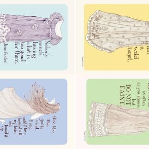 Jane Austen tea towels