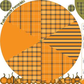 Patchwork Pumpkin Plushie