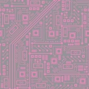 Robotika Circuit Board (Pink and Gray)