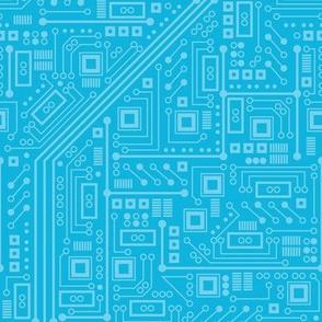 Robotika Circuit Board (Blue)