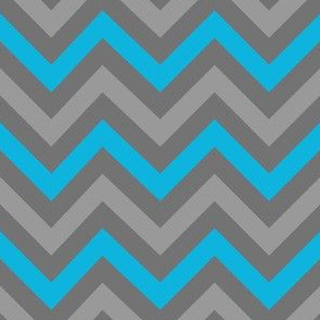 Robotika Chevron (Blue)