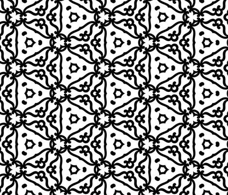 Wrought Iron fabric by kstarbuck on Spoonflower - custom fabric