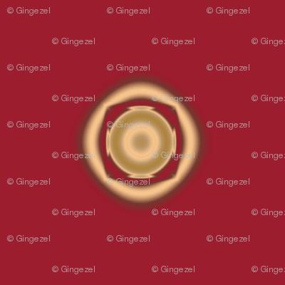 Geranium Red Dots © Gingezel™ 2012