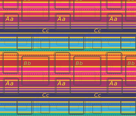 School_Paper fabric by annalisa222 on Spoonflower - custom fabric