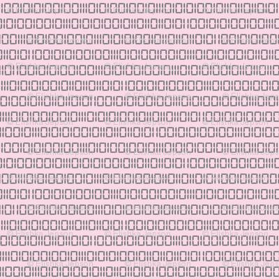 Robotika Binary (Pink)