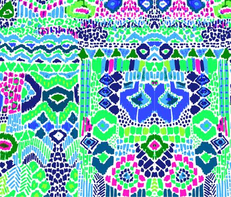 green earth day fabric by katarina on Spoonflower - custom fabric