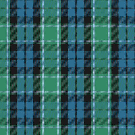 Graham of Menteith tartan (ancient) fabric by weavingmajor on Spoonflower - custom fabric