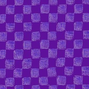 checkerboard in grape