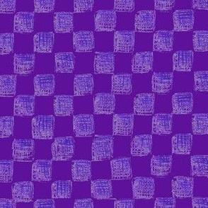checkerboard in grape