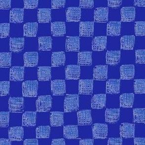 checkerboard in sapphire