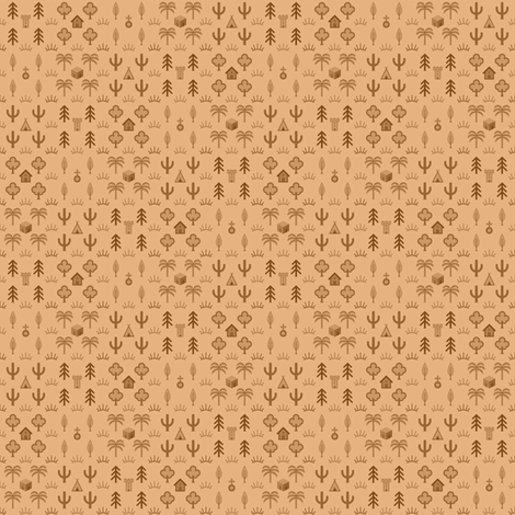 mapping zones - tiny fabric by sef on Spoonflower - custom fabric