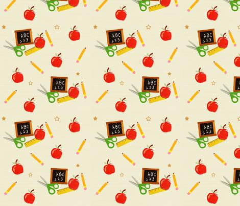 School Days fabric by taramcgowan on Spoonflower - custom fabric