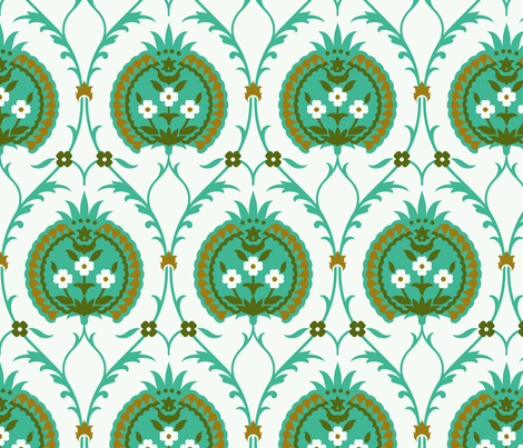 Serpentine 829 fabric by muhlenkott on Spoonflower - custom fabric