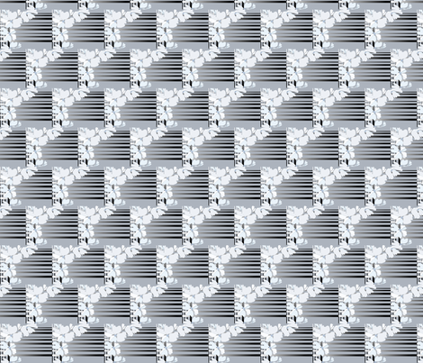 silver_gray_ designer Lydia Falletti  fabric by artsylady on Spoonflower - custom fabric