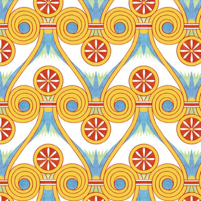 egyptian abstract pattern