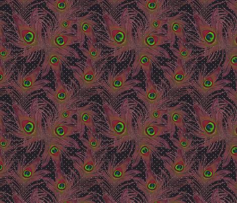 ruddy feather fabric by kociara on Spoonflower - custom fabric