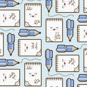 love notes blue