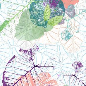 Tropical Taro Pattern