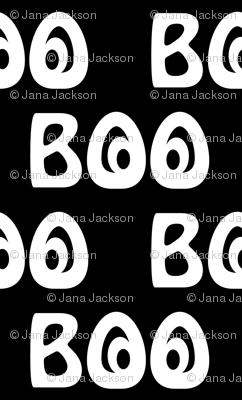 Boo - small print
