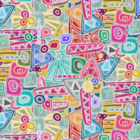precious tiny fabric by scrummy on Spoonflower - custom fabric
