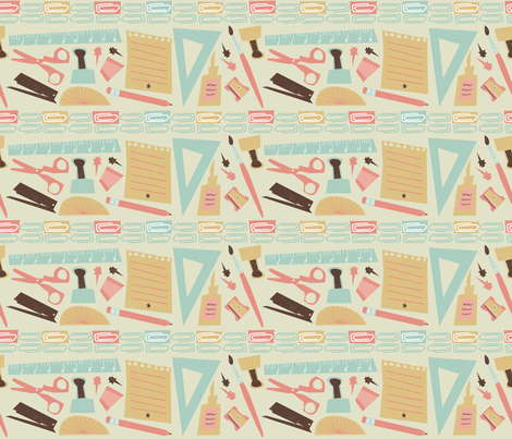 Pretty basics fabric by licoricelove on Spoonflower - custom fabric