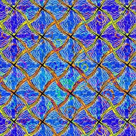 wild_diamonds_oceanbeach fabric by glimmericks on Spoonflower - custom fabric