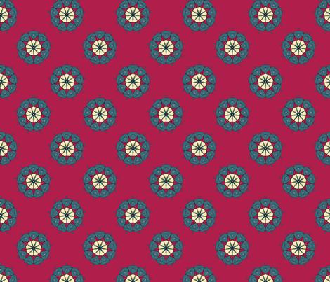 Medalion fabric by pond_ripple on Spoonflower - custom fabric