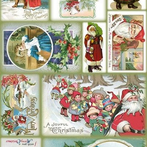 Vintage Christmas Cards ~ multidirectional