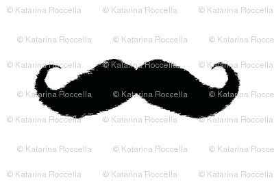 mustache_ikat