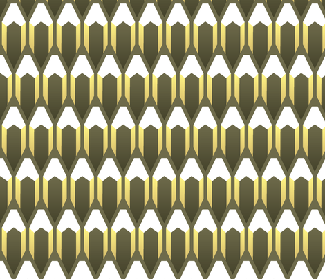 Pencils fabric by ravenous on Spoonflower - custom fabric