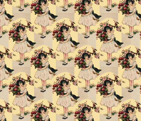 The Beautiful Rose fabric by peacoquettedesigns on Spoonflower - custom fabric