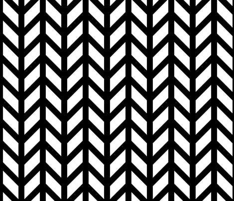 Tudor Chevron fabric by creative_merritt on Spoonflower - custom fabric
