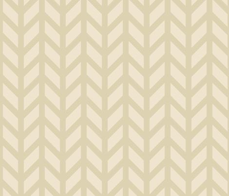 Nude Chevron fabric by creative_merritt on Spoonflower - custom fabric