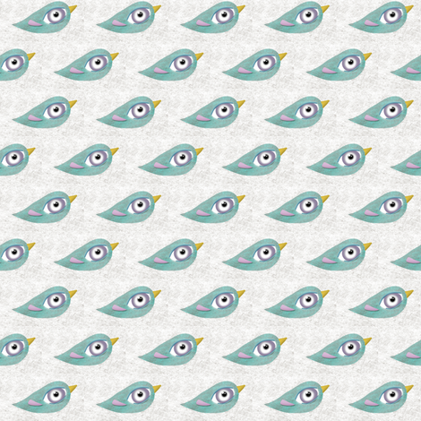 Rupydetequila Birds  fabric by rupydetequila on Spoonflower - custom fabric