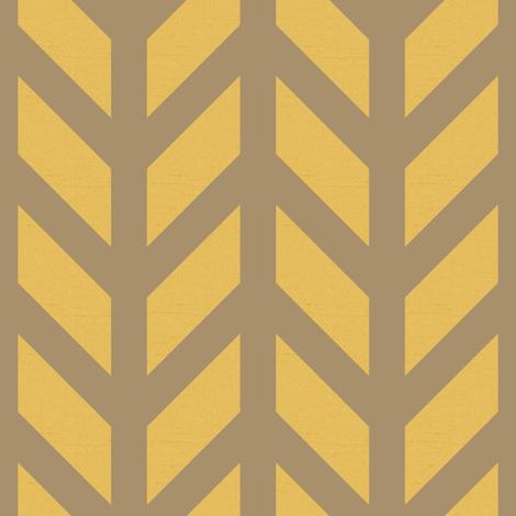 Bronze Chevron fabric by creative_merritt on Spoonflower - custom fabric