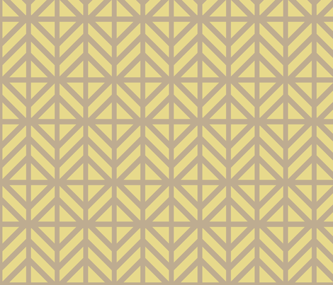 Gold Diamond Chevron fabric by creative_merritt on Spoonflower - custom fabric