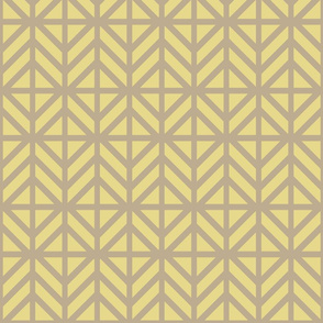 Gold Diamond Chevron