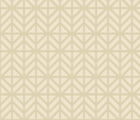 Nude Diamond Chevron fabric by creative_merritt on Spoonflower - custom fabric