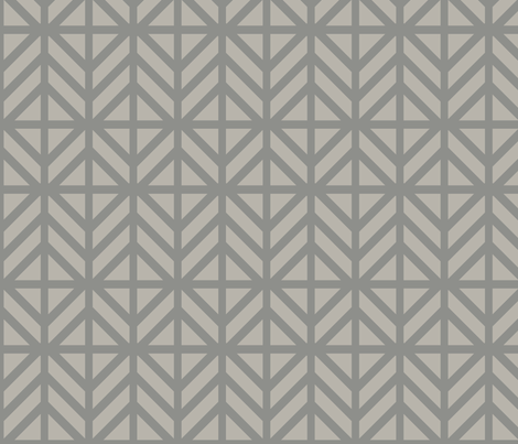 Silver Diamond Chevron fabric by creative_merritt on Spoonflower - custom fabric