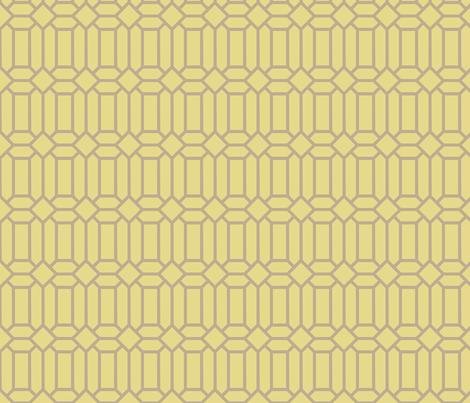 Gold Tudor Glass fabric by creative_merritt on Spoonflower - custom fabric