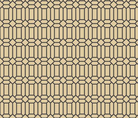 Monotone Tudor Glass fabric by creative_merritt on Spoonflower - custom fabric