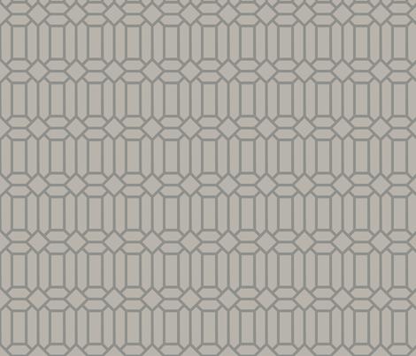 Silver Tudor Glass fabric by creative_merritt on Spoonflower - custom fabric