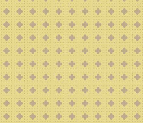 Gold Tudor Rose fabric by creative_merritt on Spoonflower - custom fabric