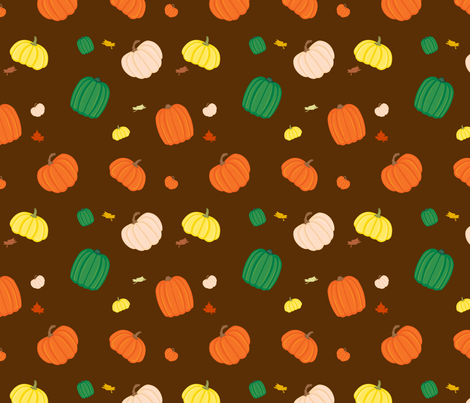 Pumpkin Patch fabric by forgotten_fortune on Spoonflower - custom fabric