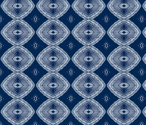 typewriter key chain (deep blue) fabric by wednesdaysgirl on Spoonflower - custom fabric