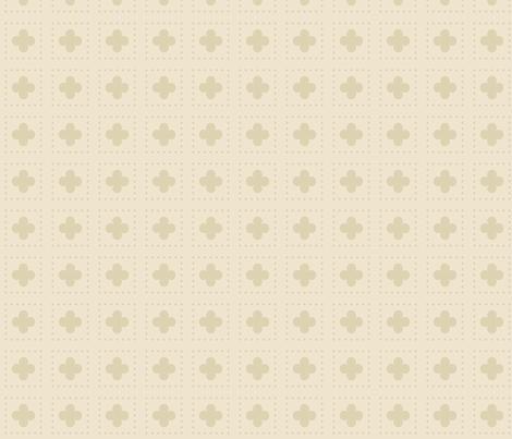 Nude Tudor Rose fabric by creative_merritt on Spoonflower - custom fabric