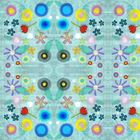 Flowers fabric by rupydetequila on Spoonflower - custom fabric