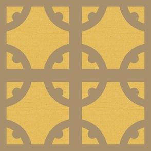Bronze Tudor Circle