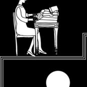 typist - black