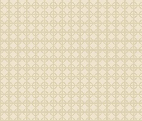 Nude Tudor Circle fabric by creative_merritt on Spoonflower - custom fabric